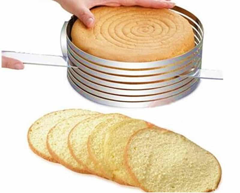 Cake Leveler Adjustable Cutter: Cake Slicers And Funnels To Make Fun Desserts