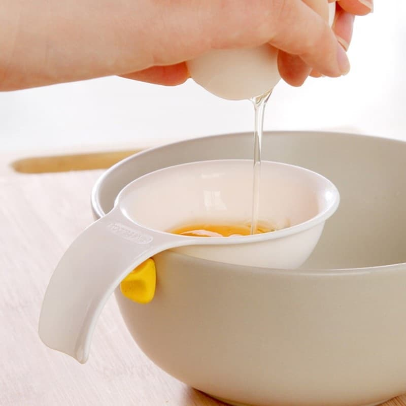 Easy Silicone Clip On Egg Separator