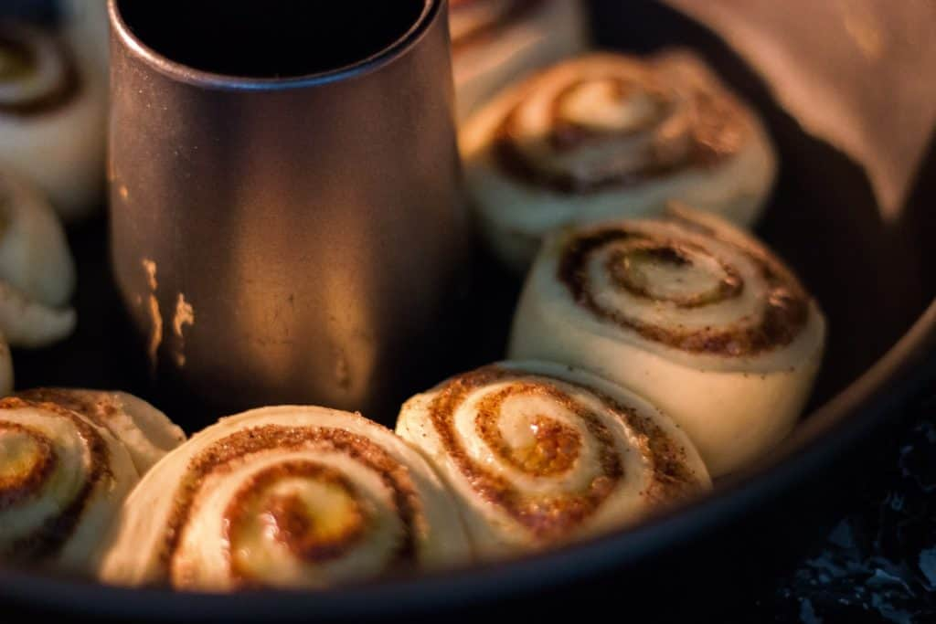 Cinnamon Sweet Sticky Buns With Melted Brown Sugar